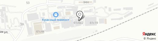 Инструмент на карте Находки