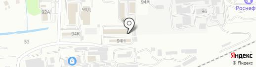 Муравейник на карте Находки