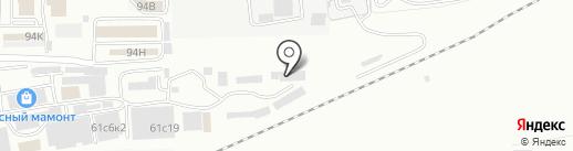 Солнечный на карте Находки