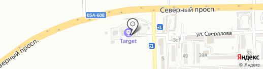 TARGET на карте Находки
