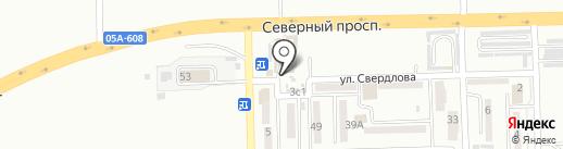 Киоск фастфудной продукции на карте Находки