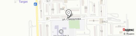 Домосед на карте Находки