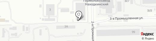 Дальинтерстрой на карте Находки