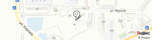 НТЛК на карте Находки