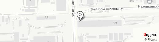 Техстройконтракт-Сервис на карте Находки