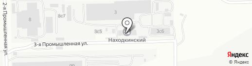 Рустил на карте Находки