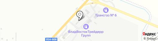 Память на карте Находки