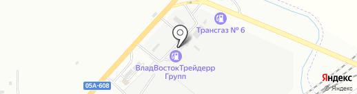 Фортуна на карте Находки