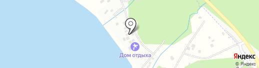 Изумрудный бережок на карте Находки
