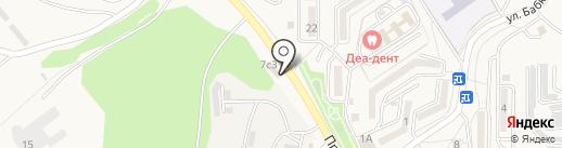 Япошка на карте Находки