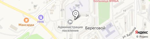 Отделение полиции №19 на карте Находки