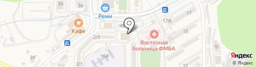 АКБ Приморье, ПАО на карте Находки