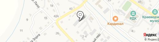 Бюро ритуальных услуг на карте Владимиро-Александровского