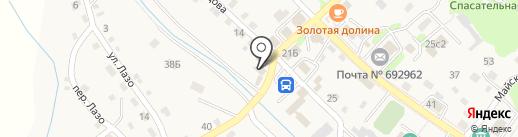 Навигатор на карте Владимиро-Александровского