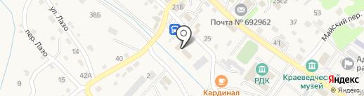 МОМВД РОССИИ Партизанский на карте Владимиро-Александровского