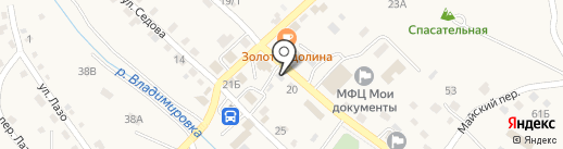 Мировые судьи Партизанского района на карте Владимиро-Александровского