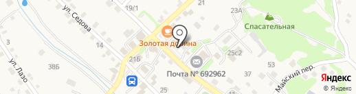 Магазин №53 на карте Владимиро-Александровского
