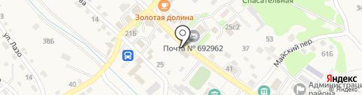 Отдел судебных приставов по Находкинскому округу на карте Владимиро-Александровского
