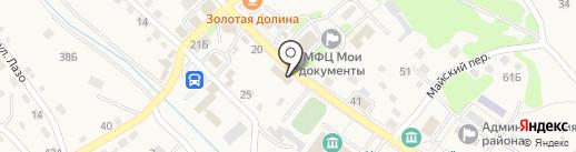 Параллель-2 на карте Владимиро-Александровского