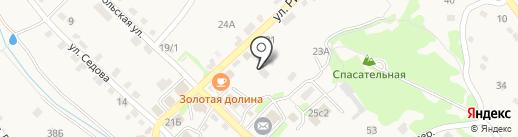 ДВСТК на карте Владимиро-Александровского
