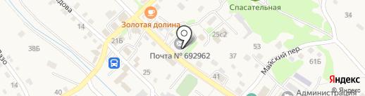 Похоронный домъ на карте Владимиро-Александровского