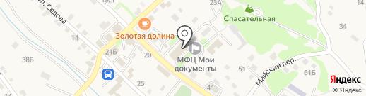 Похоронный дом на карте Владимиро-Александровского