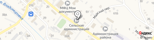 Центральная районная аптека №22 на карте Владимиро-Александровского