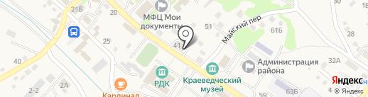 Администрация Владимиро-Александровского сельского поселения на карте Владимиро-Александровского