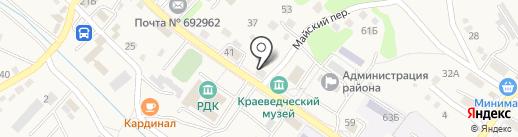 Зеркало на карте Владимиро-Александровского