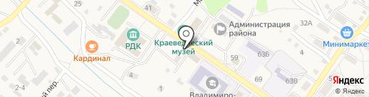 Многоточие на карте Владимиро-Александровского