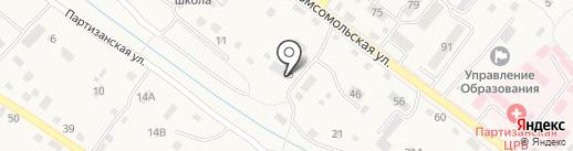 Луч на карте Владимиро-Александровского