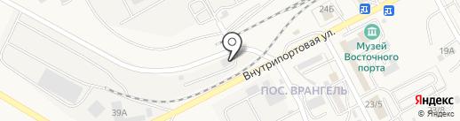 Альфа-Транзит на карте Находки