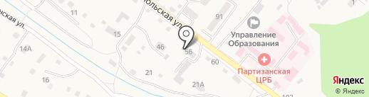 Смайл на карте Владимиро-Александровского