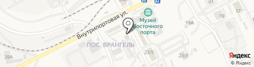 Киви на карте Находки