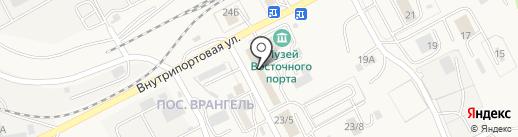 CMA CGM Русь Находка на карте Находки