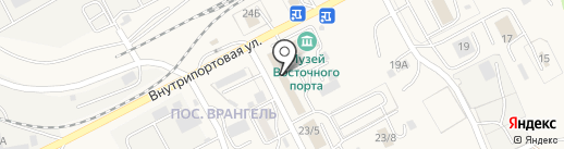Локомотив на карте Находки