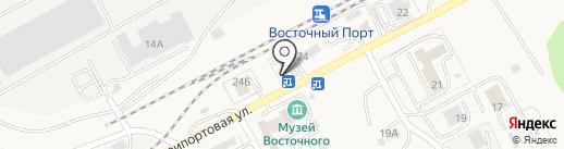 Транзит на карте Находки