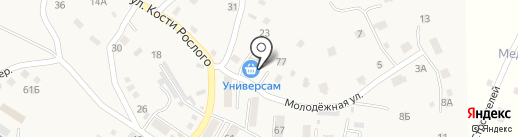 Кашёлка на карте Владимиро-Александровского