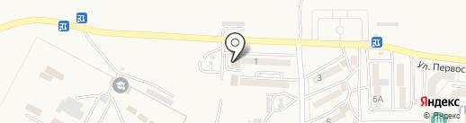 Витон на карте Находки