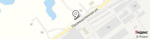 Киоск по продаже хлебобулочных изделий на карте Приамурского