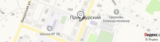 Техномир на карте Приамурского