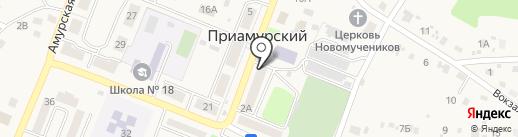 Ника на карте Приамурского