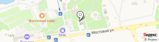 Седой граф на карте Краснореченского