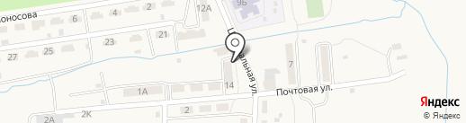Сбербанк, ПАО на карте Краснореченского