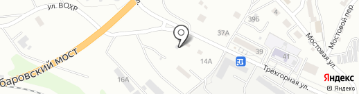 Компания по ремонту автостекол на карте Хабаровска