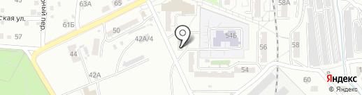 Феникс, ТСЖ на карте Хабаровска