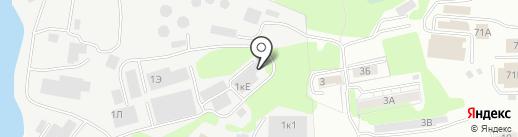 Брусчатка на карте Хабаровска