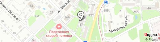 Свадебное агентство Ольги Воропаевой на карте Хабаровска