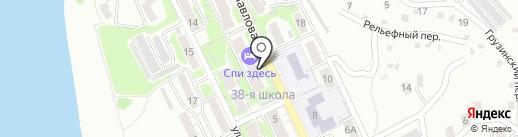 Спи здесь на карте Хабаровска