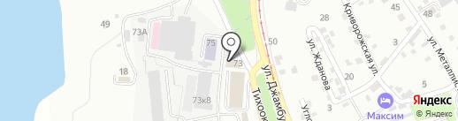 Хабаровская неотложка на карте Хабаровска